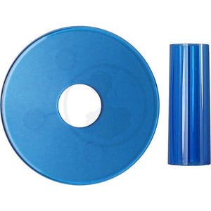 Translucent Dust and Shaft Cover - Sanwa JLF-CD-C Blue