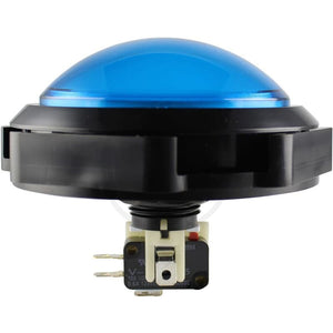 Pop´n Music Pushbutton - Sanwa OBSA-100UMQ Blue