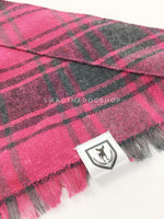 Pink and Gray Tartan Swagdana