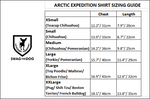 Arctic Expedition Shirt - Sizing Guide
