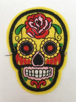 Patch Add-on - Day of the Dead Skull (Small)