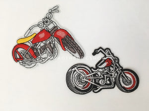 Patch Add-On of Motorcycles. Motorcycle Patches
