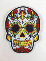 Patch Add-on - Day of the Dead Skull (Large)
