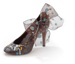 Couture chocolate heel