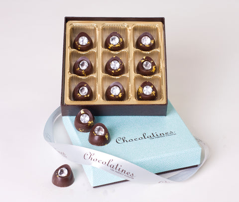 Chocolatines 24k Diamond Collection 9 piece