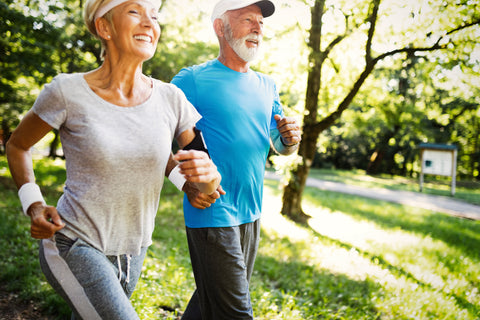 older adults staying active
