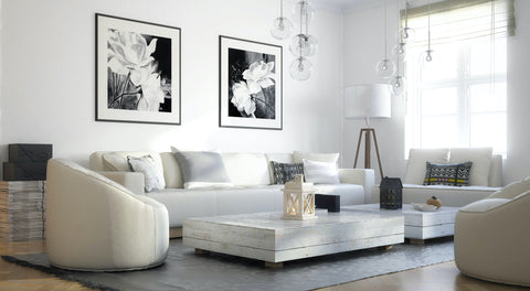modern living room with high quality furniture that will last