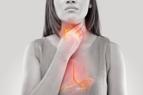 woman learning how to prevent heartburn