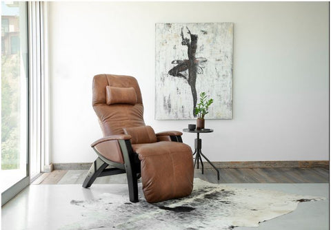 zero gravity chair or recliner in a living room