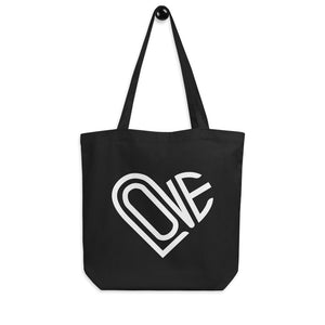LOVE-IN ECO TOTE BAG IN MIDNIGHT