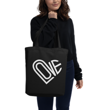 Load image into Gallery viewer, LOVE-IN ECO TOTE BAG IN MIDNIGHT