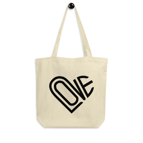 LOVE-IN ECO TOTE BAG IN OATMEAL