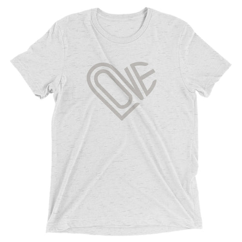 LOVE COLLECTION TRI-BLEND TEE | LIGHT