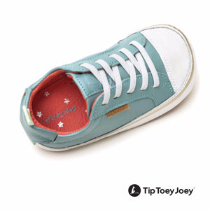 Tip Toey Joey Funky Antique Green / White