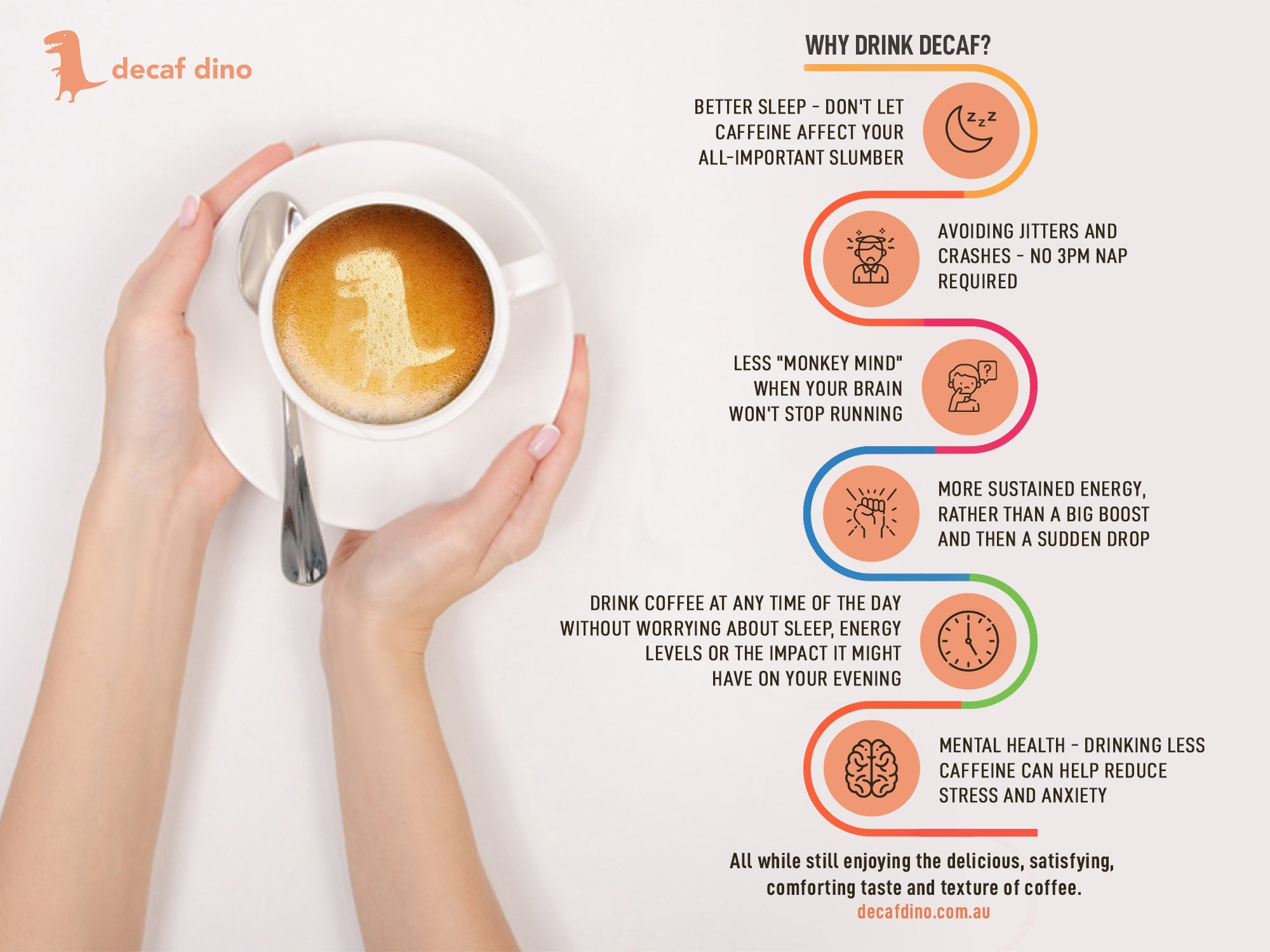Why drink decaf? Benefits of drinking decaf