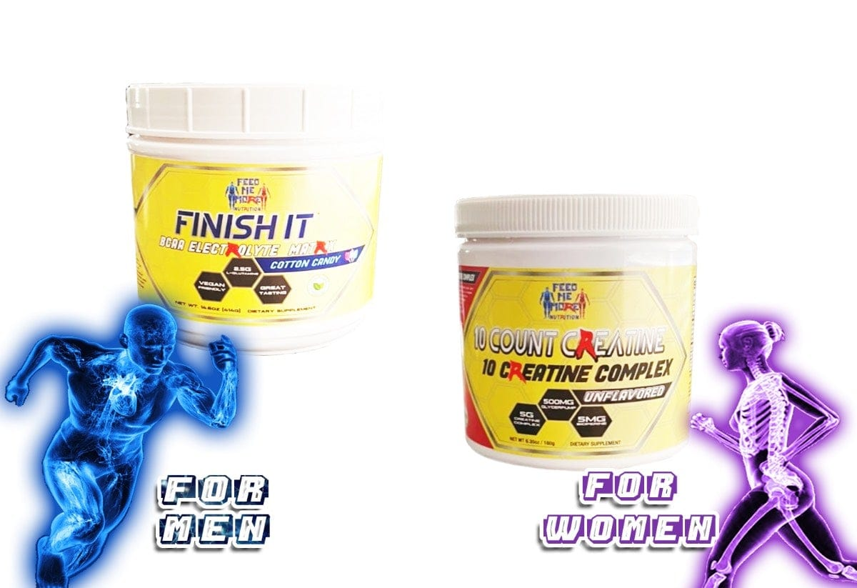 Finish It BCAA | 10 Count Creatine (STACK)