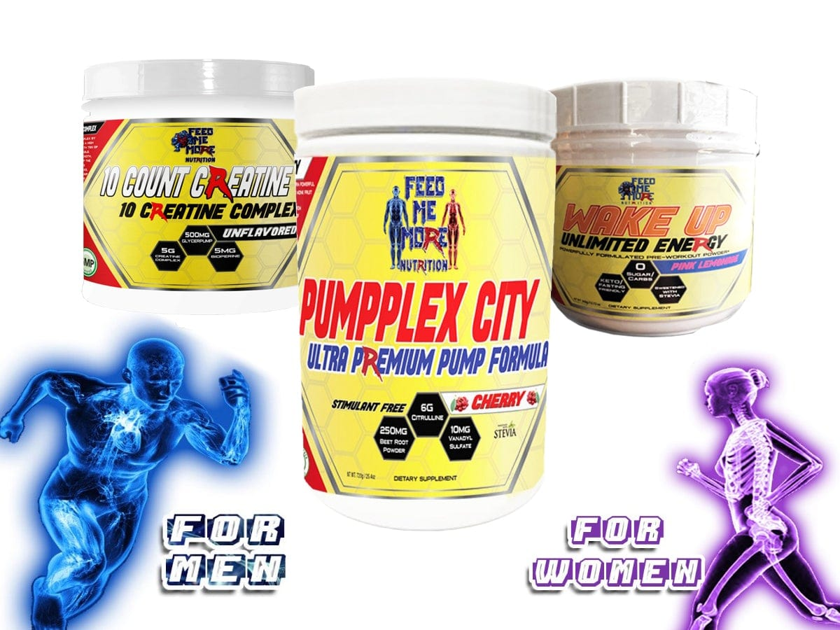 PumpPlex, Wake Up, 10 Count Creatine Stack