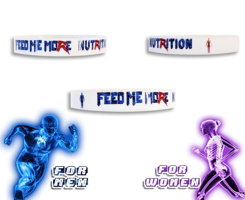 Feed Me More Wristband