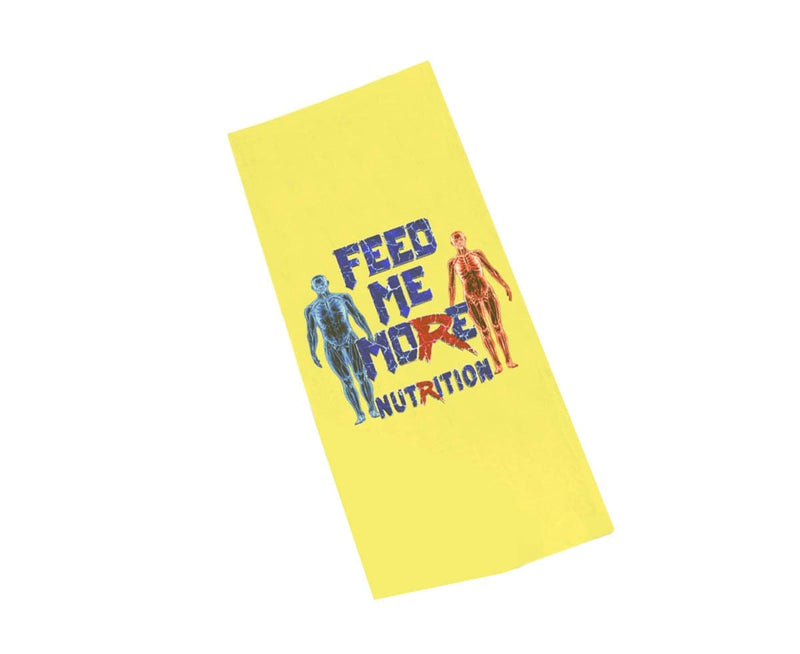 """Feed Me More"" Towel"