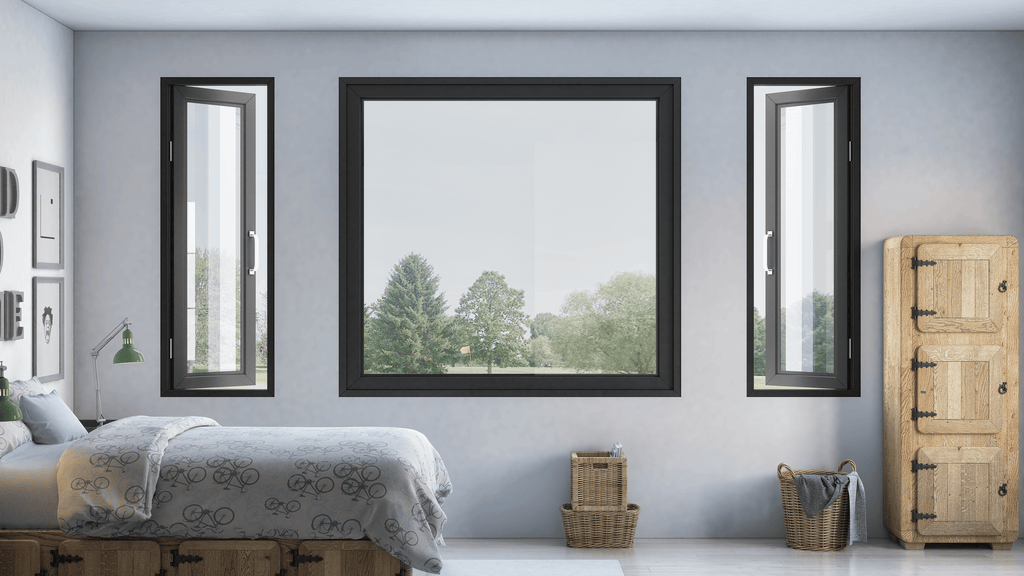 window, high-end window, open window, fixed window, many sizes, sleek, modern, contemporary, fashionable