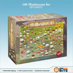 108 Mushrooms Terrain Bit Set Bits