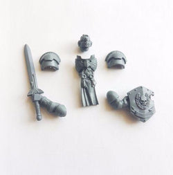 Space Marine Company Champion Upgrade Bits - Warhammer 40K Command Squad Adeptus