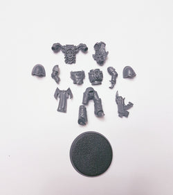 Rubric Marine W/ Bolter Single Figure Model Bits