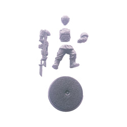 Cadian Shock Troop Single Figure Model Bits - Warhammer 40k Imperial Guards