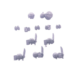 Cadian Shock Troop Accessory Grenade Pouch Bits