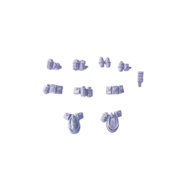 Space Marine Scout Frag Krak Grenade Pouch Accessory Bits