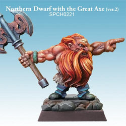Northern Dwarf with the Great Axe (ver.2)