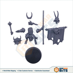 Bestigor Banner Bearer Single Figure Bits