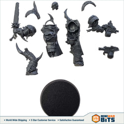 Blightlord Terminator Single Figure W/ Balesword & Bolter Bits