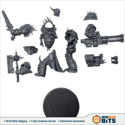 Blightlord Terminator Single Figure W/ Reaper Cannon Bits