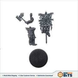 Bloodreaver Standar Banner Bearer Single Figure Bits