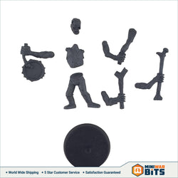 Deadwalker Zombie Noisemaker Musician Single Figure Bits