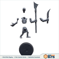 Deadwalker Zombie Single Figure Bits