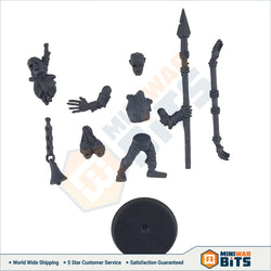 Deadwalker Zombie Standard Bearer Single Figure Bits