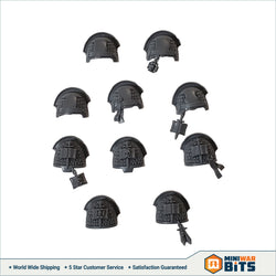Grey Knight Terminator Paladin Shoulder Pad Bits