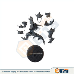 Gwakamoli Crater Gators Saurus Blocker 1 Single Figure Bits