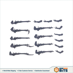 Kabalite Warriors Splinter Rifles Bits