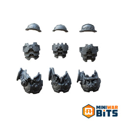 Kataphron Breachers Torso & Shoulder Armor Bits