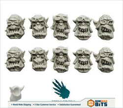 Orcs Storm Flying Squadron Heads (Ver. 2) Bits