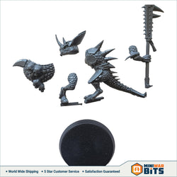Saurus Guard Single Figure Bits