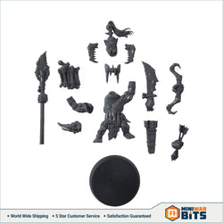 Savage Orruk Boss Single Figure With Weapon Options Bits