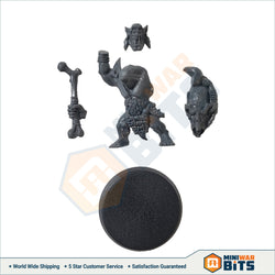 Savage Orruk Single Figure With Skull Thumper Bits