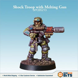 Shock Troop With Melting Gun Bits