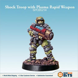 Shock Troop With Plasma Rapid Weapon Bits