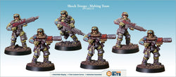 Shock Troops - Melting Team Bits