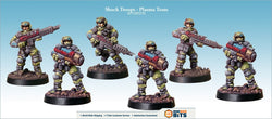 Shock Troops - Plasma Team Bits
